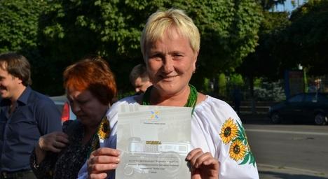 Житомирський журналіст в кадрі. Фото