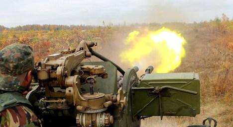 Батальйон 30-ї бригади пройшов бойовий вишкіл полем. Фото